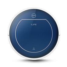 Original CHUWI ILIFE V7 Bluetooth Mini Robotic Vacuum Cleaner for Home Wireless Dry Cleaning Appliances with Remote Control Blue(China (Mainland))
