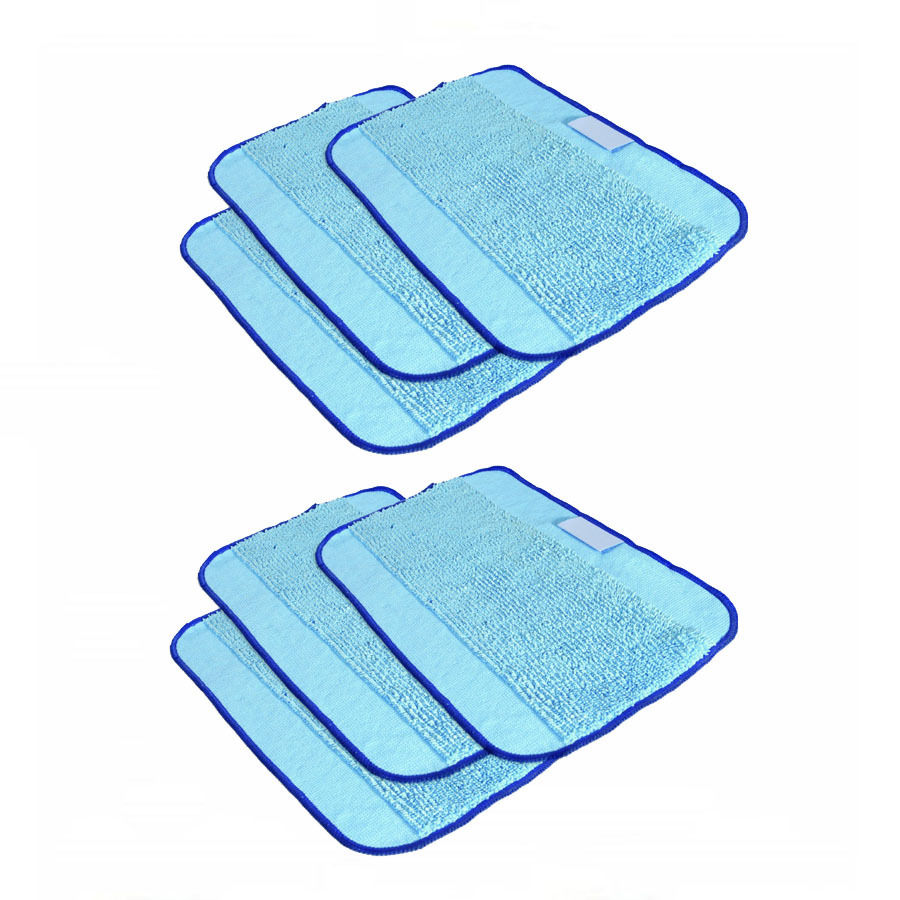 Microfiber 6-Pack Pro-Clean Mopping Cloths for Braava Floor Mopping Robot irobot Braava Minit 4200 5200 5200C 380 380t(China (Mainland))
