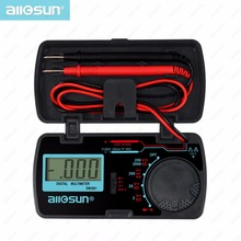 all-sun EM3081 Autorange digital multimeter 3 1/2 1999 low battery indication overload protection MULTIMETER automotive tester