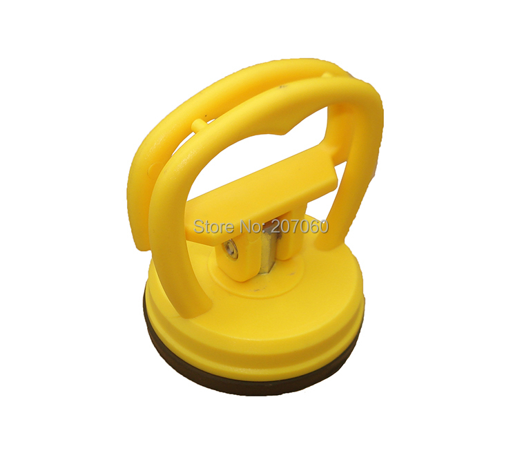 5.5cm Handle Dent Puller Plastic Rubber Vacuum Suction Cup for Tablet PC iPad iMac iPhone6 Front Glass Screen Repair Tool 200pcs(China (Mainland))