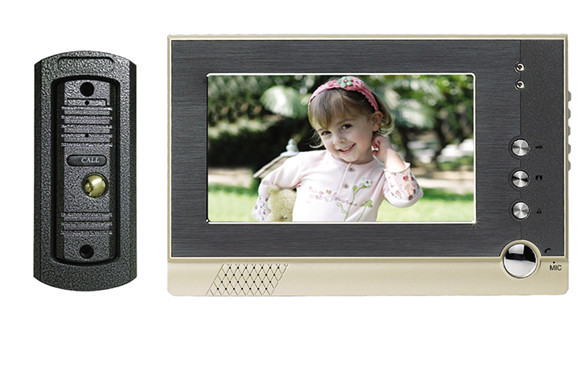 product Manufacturers selling 7 inch color monitor metal shell visible interphone GW607SC - F2C