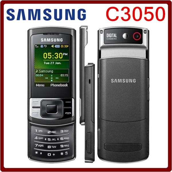C3050 Original Unlocked Samsung C3050 2.0 Inches GPRS GSM Cheap Refurbished Mobile Phone Free Shipping(China (Mainland))