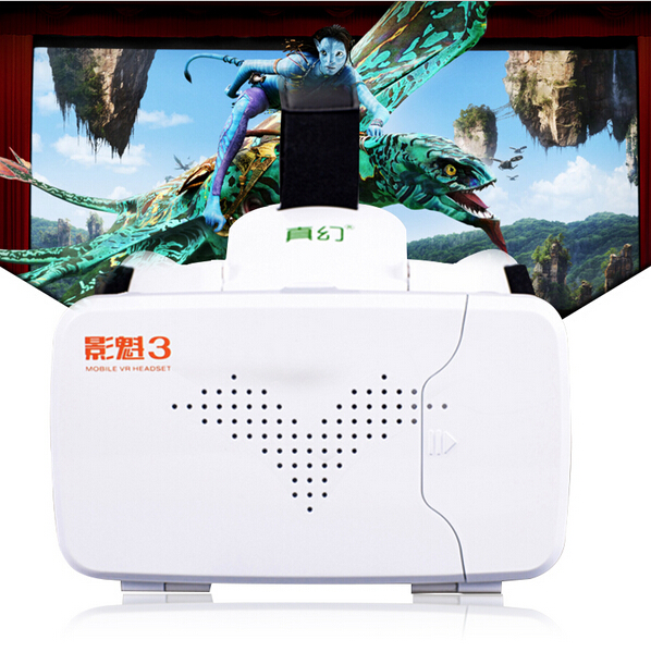 RITECH III VR Virtual Reality Glasses With AR Google Cardboard for 3.5-6 inch update from Ritech II<br><br>Aliexpress