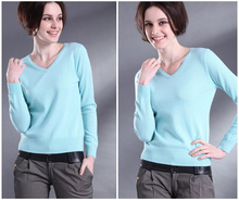 2015 New pure cashmere sweater women pullovers sweater real cashmere pullover free shipping S262(China (Mainland))