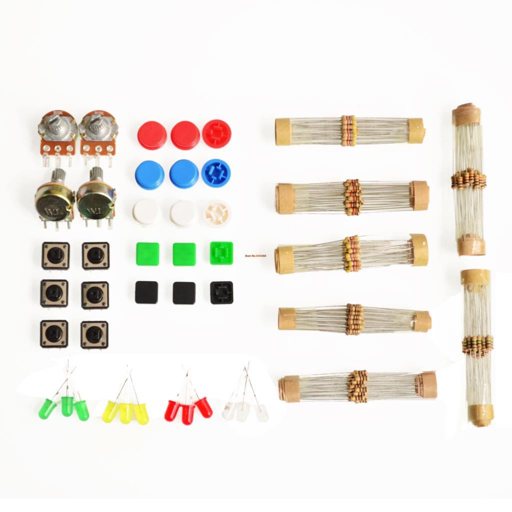Sets handy portable resistor kit for arduino starter