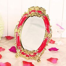 Valentine's Day 1Pcs Chinese Style Wedding Makeup Mirror Dresser Bride Wedding Supplies Pprops Wedding Decorations Free Shipping(China (Mainland))