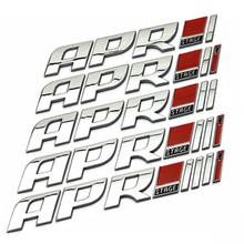 Discount Silver APR STAGE Chrome Metal Racing Car Emblem Badge 3D Car Sticker Auto Exterior Logo Decoration for VW Volkswagen(China (Mainland))