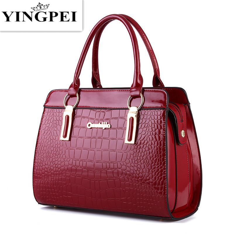 YINGPEI women messenger bags luxury tote crossbody purses leather clutch handbags famous brands designer High