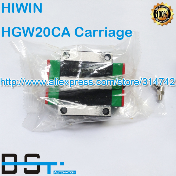 100% Original New HIWIN linear guide block/Carriages/car HG20 HGW20CA HGW20CC HGR20 for CNC parts(China (Mainland))