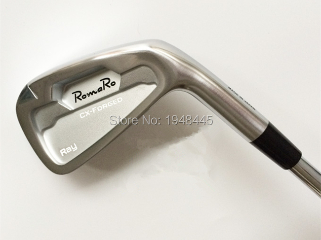 Romaro Ray CX Forged Irons RomaRo Golf Forged Irons Authentic Golf Clubs 4-9Pw Regular/Stiff Flex Steel Shaft With Head Cover(China (Mainland))