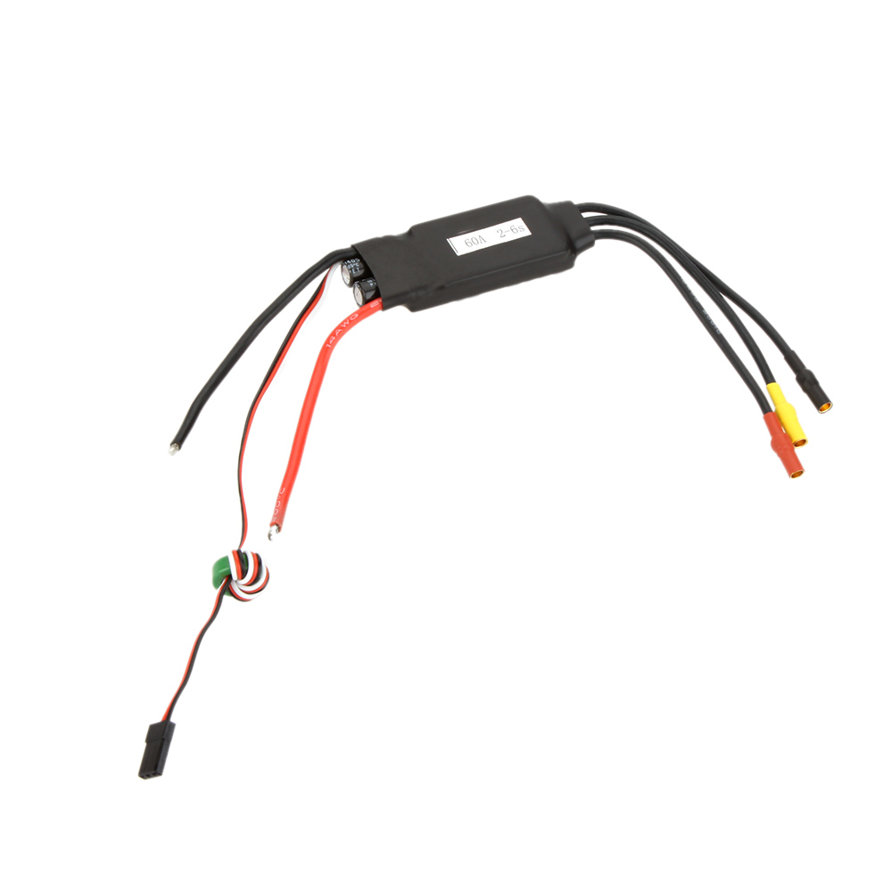 New 60A Brushless ESC Electric Speed Controller with 4A BEC for RC 450 Helicopter(China (Mainland))