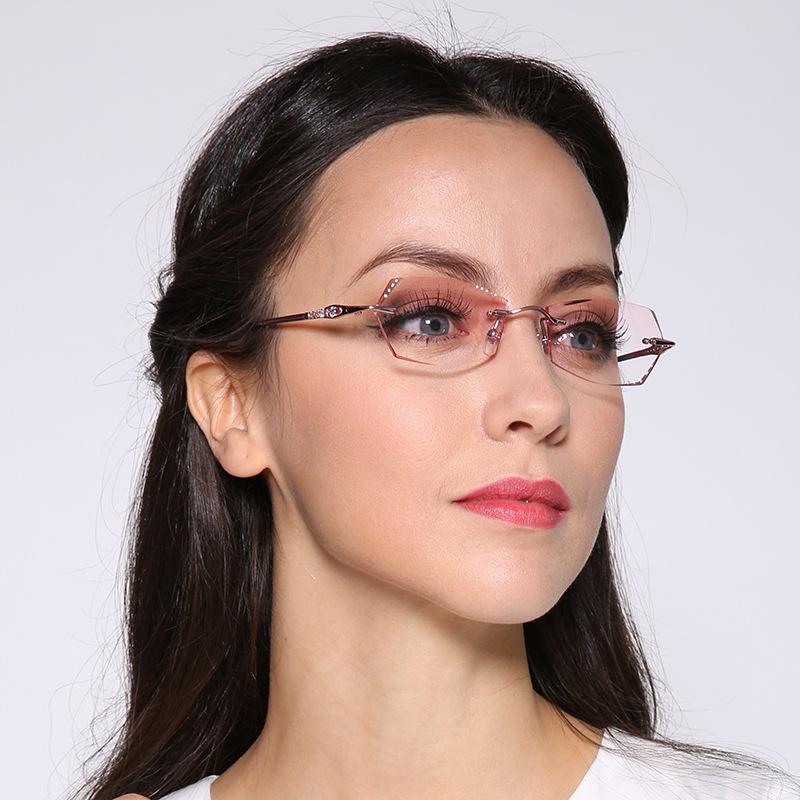 New Fashion Korea Eyeglasses Titanium Women Myopia Spectacle Frames(China (Mainland))