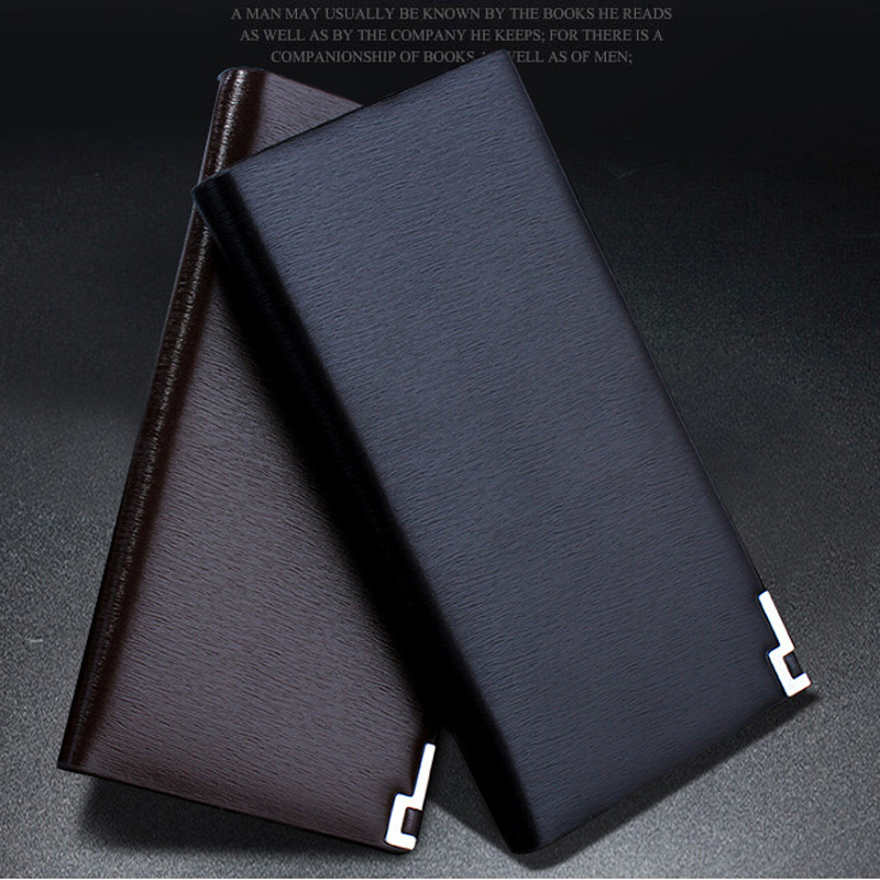 2015 Long Size Mens Wallet Leather Genuine Santoro Carteira Masculina Slim Wallet Male Famous Brand Purses Louis Magic Walleter(China (Mainland))