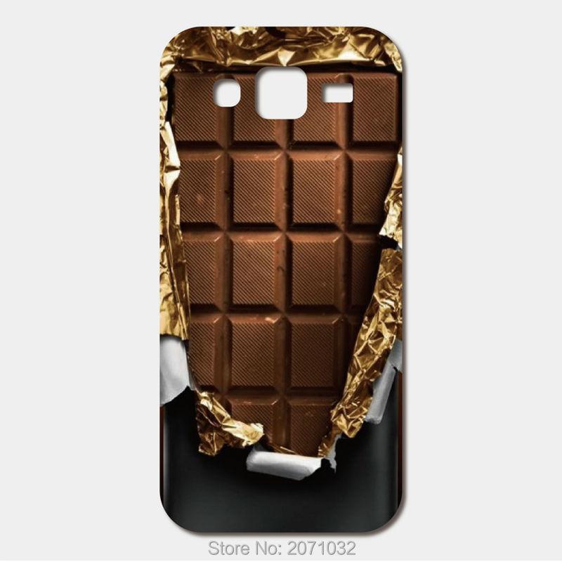 For Samsung Galaxy J5 J7 J1 J2 A9 A8 A7 A5 A3 E5 E7 S5 S6 S7 Edge Plus Grand Prime G530H G313H Cover chocolate mobile phone bag(China (Mainland))