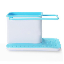 Buy High 2016 New Arrival Multifunction Racks Kitchen Sink Utensils Holders Organizer Caddy Storage Holder Blue for $7.79 in AliExpress store