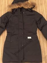 2016 Livraison gratuite Canada femmes Hiver chaud Respirant manteau en Duvet D'oie veste Loup col de fourrure des femmes Vers Le Bas veste Trillium Parka(China (Mainland))