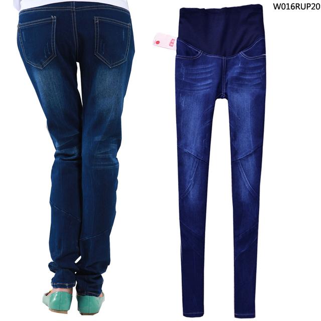 Бесплатная доставка оптовая продажа беременным регулярные джинсы беременная одежда ...