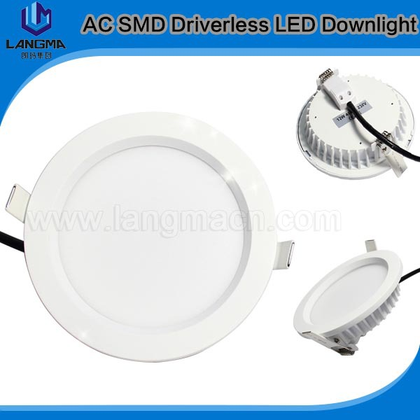 10PCS/Lot, AC220V/230V/240V Dimmable Downlight WW/CW/NW 18W LED AC Ceiling Down Lights(China (Mainland))