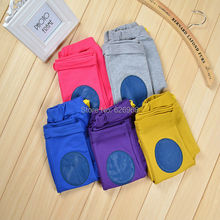 2014 New arrival baby pants cotton boys pants for spring autumn girls harem pants casual children trousers solid color retail(China (Mainland))