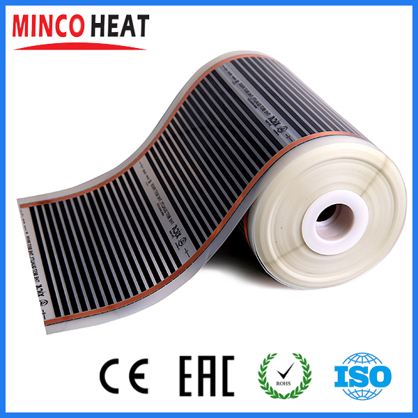 Electric floor heating electric infrared film temperature low