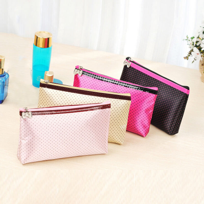 New Women Handbag Mini Cosmetic Cases Women's Lady Travel Cosmetic Pouch Clutch Casual Purse Storage(China (Mainland))