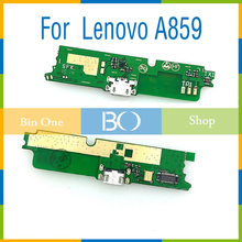 USB plug charge board for Lenovo A859 with Microphone cell phone Free shipping(China (Mainland))