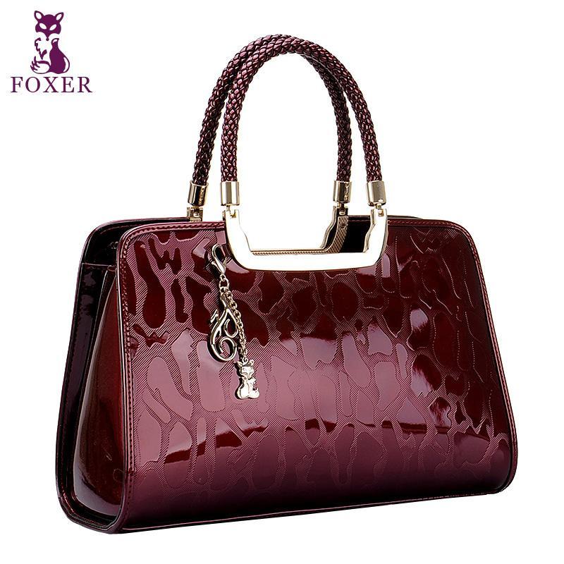 Wolsey women's handbag 2014 embossed handbag quality women's bags cowhide women's handbag fashion handbag