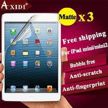 Matte tablet screen protector anti-scratch screen guard for Ipad mini & mini 2 free shipping 3 pcs a lot(China (Mainland))