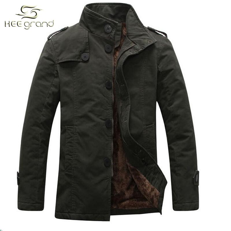 New Winter Coat Men 2015 Autumn Winter Style Men Jacket Coat Korea Style Thicken Cotton Men
