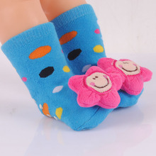 1Pair New 2014 Winter Warm Baby Socks 0-2 Years Infant Kids Socks For New Born Mixed Color — SKA07 Wholeslae ST05
