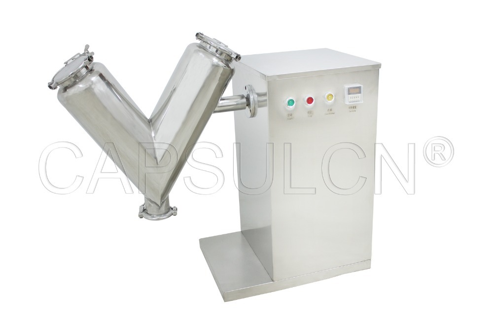 V20 Powder Mixing Machine/ Laboratory Mixer Machine/ V Mini Powder Mixer / Powder Blending Machine (110V 60HZ)(Hong Kong)