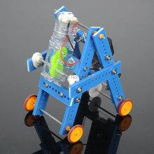 Technology Makings Handmade DIY Assembled Model Inchworm Crawling Robot NO. 7 Puzzle Creativity Developing(China (Mainland))