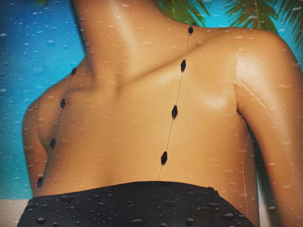 Designer crystal  bra straps black jet colorОдежда и ак�е��уары<br><br><br>Aliexpress