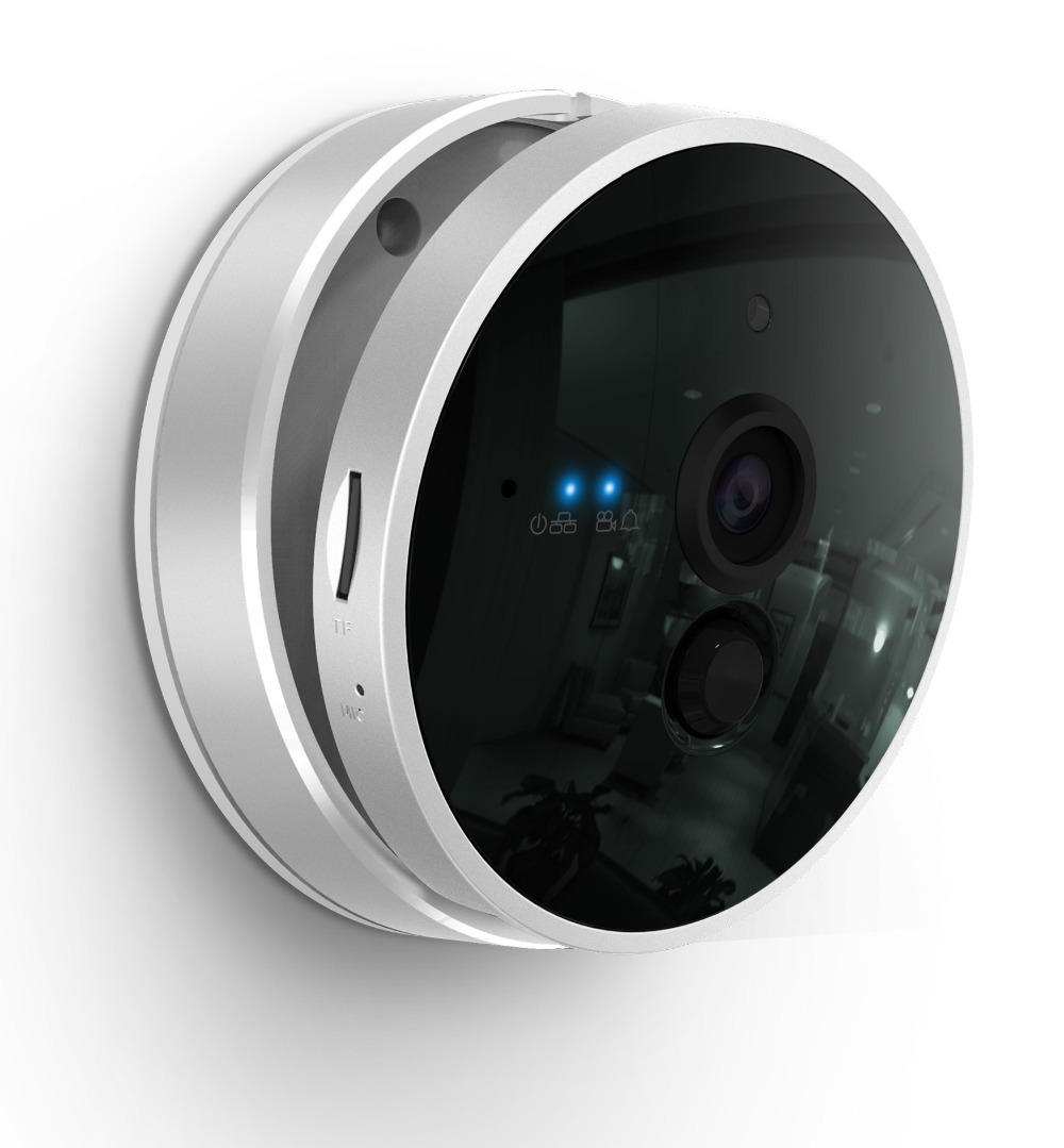 free shipping nice deign luxury looking security ip camera p2p alarm system with Andorid and IOS app(China (Mainland))