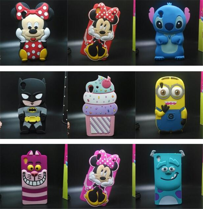 3D Cute Lips Soft Silicone Mobile Phone Bags Case Cover For Sony Xperia M4 Aqua(China (Mainland))