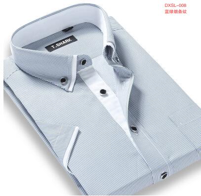Striped Shirt Men Brand Men s Clothing Casual Shirts Camisa Masculina Men Clothes Plus Size Men