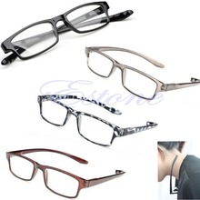 New Hot Light Comfy Stretch Reading Glasses Presbyopia 4.0 3.5 3.0 2.5 2.0 1.5 1.0