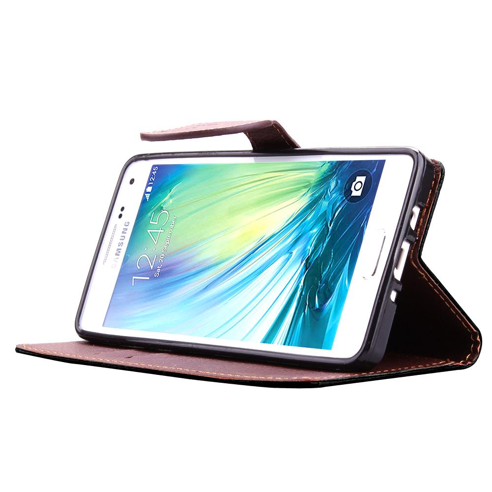 For Samsung Galaxy A3 Case Soft Silicone & Flip Leather Cover For Samsung Galaxy A3 2015 Case A300 Card Slot Phone Shell