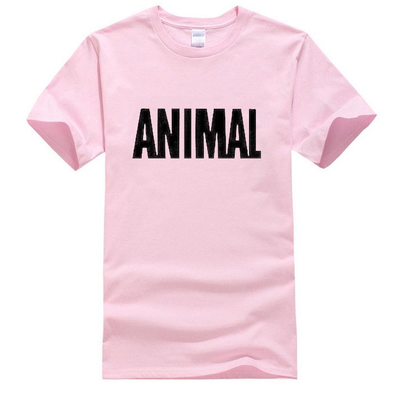 2016 Animal Print T Shirts Men Shorts Sleeve 11 Color Hip Hop Man Tops Tees Casual cotton T-shirt Boy Europe size XS-2XL(China (Mainland))