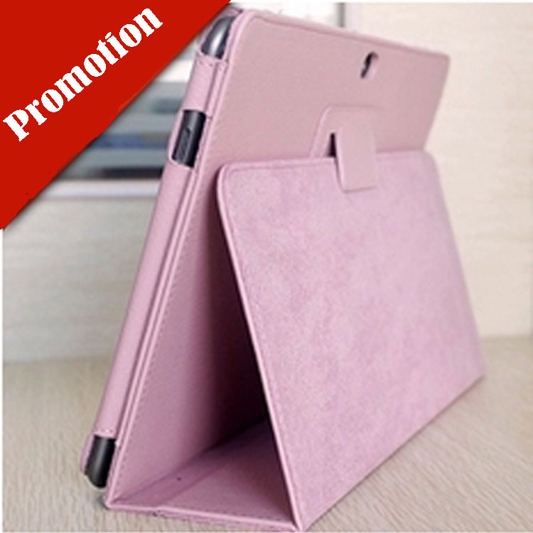 Hot Sale Ultra Slim Stand Cover Leather Case For Samsung Galaxy Tab 2 10.1 P5100 P5110 P7500 2 Two Folding Litchi Tablet Bag(China (Mainland))