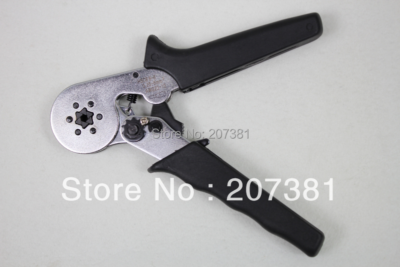 FREE SHIPPING HSC8 6-6 MINI-TYPE SELF-ADJUSTABLE CRIMPING PLIER 0.25-6mm terminals crimping tools multi tool tools hands pliers~(China (Mainland))