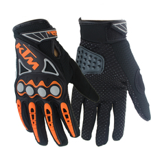 NEW Professional sport full finger leather motorcycle gloves guantes moto cycling motocross gloves guantes ciclismo racing(China (Mainland))