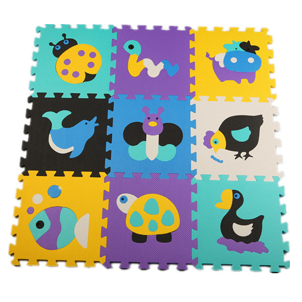 30*30cm 9pcs/set Puzzle Mat Baby Toys EVA Foam Baby Play Mat Baby Carpet Gym Foam Puzzle Kids Toys Speelmat Children's Rugs duck(China (Mainland))