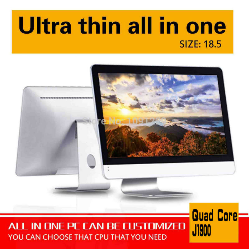 2015 New J1900 18.5 4G/16G SSD computer all in one cheap all in one pc touch screen all in one pc support Bluetooth embedded <br><br>Aliexpress