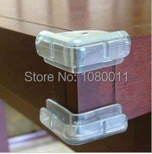 Transparent right angle crash bar baby anti-collision angle corner protective corner protective case thickening collision angle