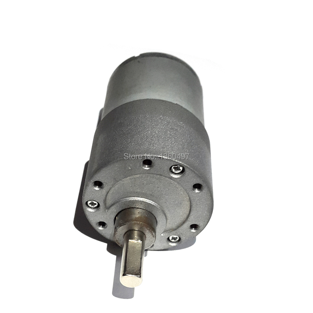 50rpm high torque gear box 37gb 37mm 12v powerful dc motor for Brushless dc electric motors