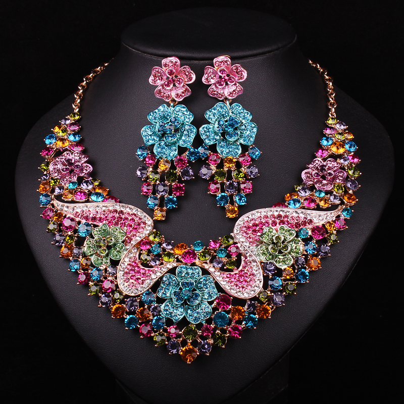 Buy fashion bridal jewelry set wedding for Where to buy wedding accessories