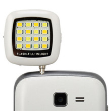 Fashion Built-in 16 LED FLASH Lamp for iPhone 6 6S Plus Galaxy Note 5 S6 Camera Phone Multiple Photography SYNC fill-in light (China (Mainland))