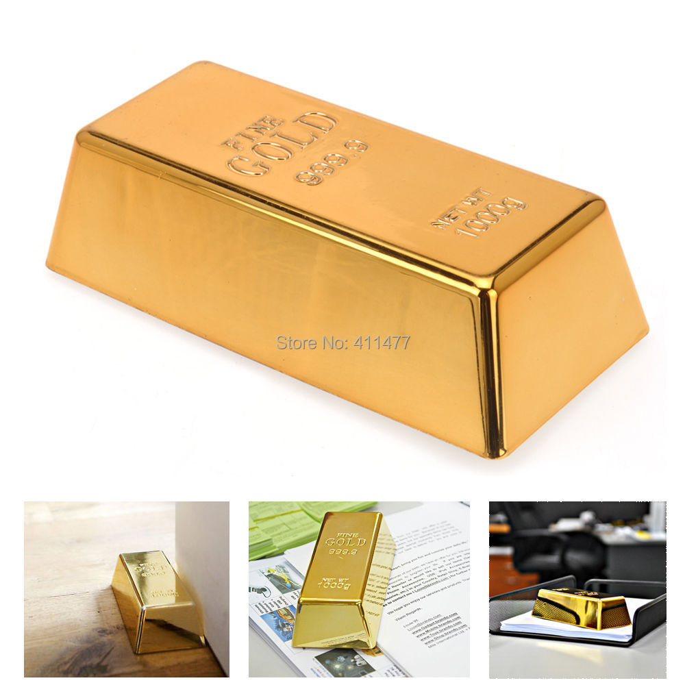Online buy wholesale gold bullion door stop from china gold bullion door stop wholesalers - Novelty doorstop ...