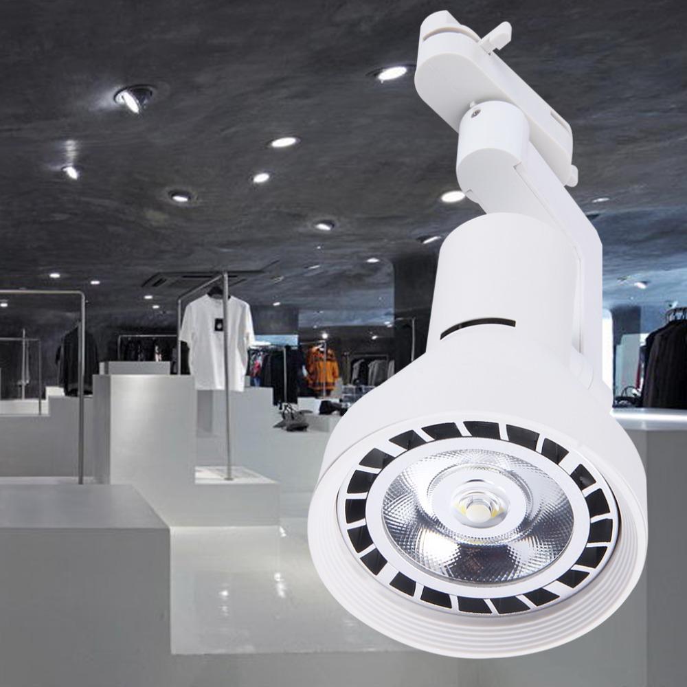 35W COB Ceiling Down Hall Display Jewelry Cabinet Lamp Track Spotlight Popular New<br><br>Aliexpress